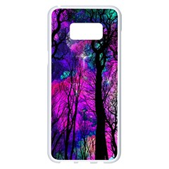 Magic Forest Samsung Galaxy S8 Plus White Seamless Case by augustinet