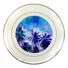 Summer Night Dream Porcelain Plates by augustinet