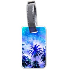 Summer Night Dream Luggage Tags (one Side)  by augustinet
