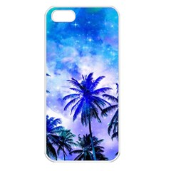 Summer Night Dream Apple Iphone 5 Seamless Case (white) by augustinet