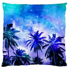 Summer Night Dream Standard Flano Cushion Case (two Sides) by augustinet