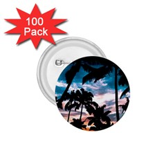 Palm Trees Summer Dream 1 75  Buttons (100 Pack)  by augustinet