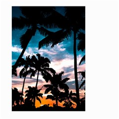 Palm Trees Summer Dream Large Garden Flag (two Sides) by augustinet