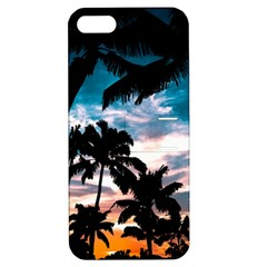 Palm Trees Summer Dream Apple Iphone 5 Hardshell Case With Stand by augustinet