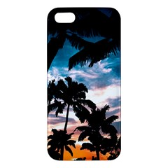 Palm Trees Summer Dream Apple Iphone 5 Premium Hardshell Case by augustinet