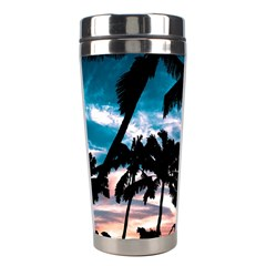 Palm Trees Summer Dream Stainless Steel Travel Tumblers by augustinet