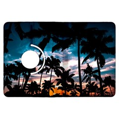 Palm Trees Summer Dream Kindle Fire Hdx Flip 360 Case by augustinet