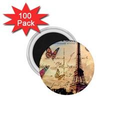 Vintage Paris Carte Postale 1 75  Magnets (100 Pack)  by augustinet
