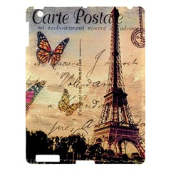 Vintage Paris Carte Postale Apple Ipad 3/4 Hardshell Case by augustinet