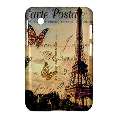 Vintage Paris Carte Postale Samsung Galaxy Tab 2 (7 ) P3100 Hardshell Case  by augustinet