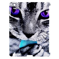 Purple Eyes Cat Apple Ipad 3/4 Hardshell Case (compatible With Smart Cover) by augustinet