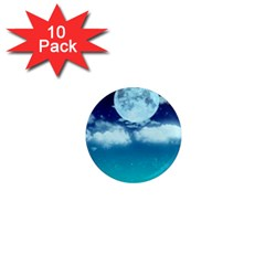 Dreamy Night 1  Mini Magnet (10 Pack)  by augustinet