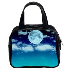 Dreamy Night Classic Handbags (2 Sides) by augustinet