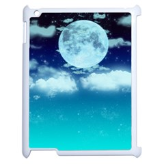 Dreamy Night Apple Ipad 2 Case (white) by augustinet