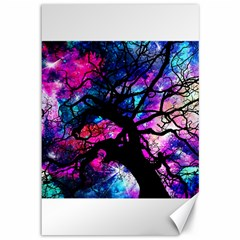 Star Field Tree Canvas 12  X 18   by augustinet