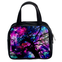 Star Field Tree Classic Handbags (2 Sides) by augustinet