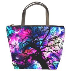 Star Field Tree Bucket Bags by augustinet