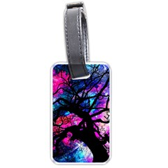 Star Field Tree Luggage Tags (one Side)  by augustinet