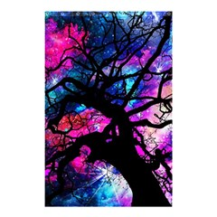 Star Field Tree Shower Curtain 48  X 72  (small)  by augustinet