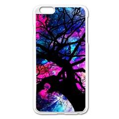Star Field Tree Apple Iphone 6 Plus/6s Plus Enamel White Case by augustinet