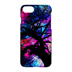 Star Field Tree Apple Iphone 7 Hardshell Case by augustinet