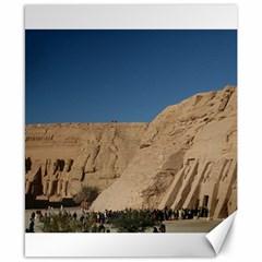 Abusimble Egyptian Ruins Ramesses Mummies Canvas 8  X 10