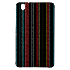 Multicolored Dark Stripes Pattern Samsung Galaxy Tab Pro 8 4 Hardshell Case by dflcprints