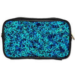 Teal Leafs Toiletries Bags 2 Side by augustinet