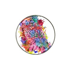 Rainbow Owl Hat Clip Ball Marker (10 Pack) by augustinet