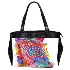 Rainbow Owl Office Handbags (2 Sides)  by augustinet