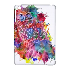Rainbow Owl Apple Ipad Mini Hardshell Case (compatible With Smart Cover) by augustinet