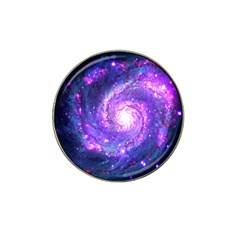 Ultra Violet Whirlpool Galaxy Hat Clip Ball Marker (4 Pack) by augustinet