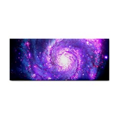 Ultra Violet Whirlpool Galaxy Cosmetic Storage Cases by augustinet