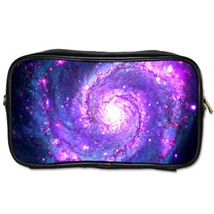 Ultra Violet Whirlpool Galaxy Toiletries Bags by augustinet