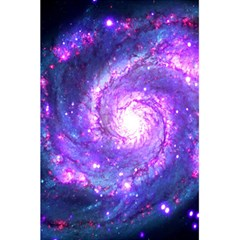 Ultra Violet Whirlpool Galaxy 5 5  X 8 5  Notebooks by augustinet