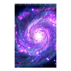 Ultra Violet Whirlpool Galaxy Shower Curtain 48  X 72  (small)  by augustinet