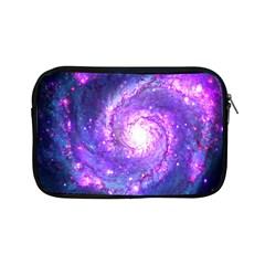 Ultra Violet Whirlpool Galaxy Apple Ipad Mini Zipper Cases by augustinet