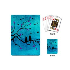 Lovecats Playing Cards (mini)  by augustinet