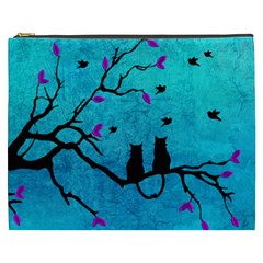 Lovecats Cosmetic Bag (xxxl)  by augustinet