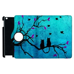 Lovecats Apple Ipad 3/4 Flip 360 Case by augustinet