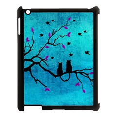 Lovecats Apple Ipad 3/4 Case (black) by augustinet