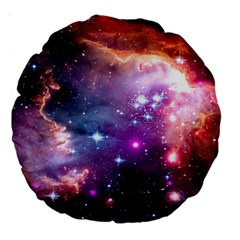Deep Space Dream Large 18  Premium Round Cushions by augustinet