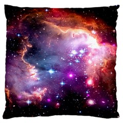 Deep Space Dream Large Flano Cushion Case (one Side) by augustinet