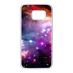 Deep Space Dream Samsung Galaxy S7 White Seamless Case