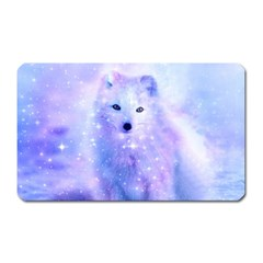 Arctic Iceland Fox Magnet (rectangular) by augustinet