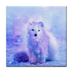 Arctic Iceland Fox Face Towel by augustinet