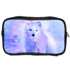 Arctic Iceland Fox Toiletries Bags by augustinet