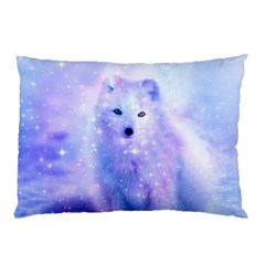 Arctic Iceland Fox Pillow Case (two Sides) by augustinet