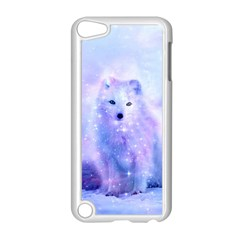 Arctic Iceland Fox Apple Ipod Touch 5 Case (white) by augustinet