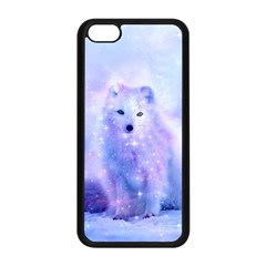 Arctic Iceland Fox Apple Iphone 5c Seamless Case (black) by augustinet